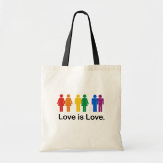 Love is Love Budget Tote Bag
