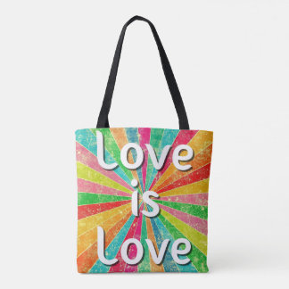 Love is Love Tote Bag Purse Handbag