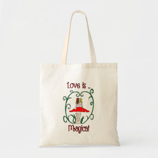 Love is Magical Budget Tote Bag
