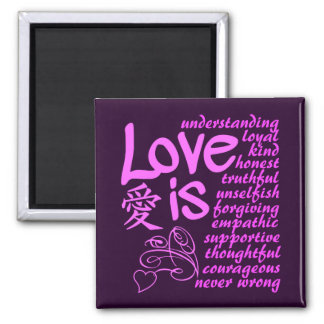 Love Is ... magnet