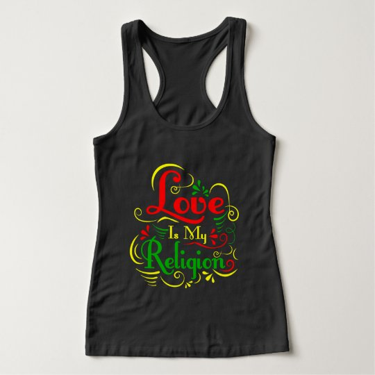 Love Is My Religion Tank Top