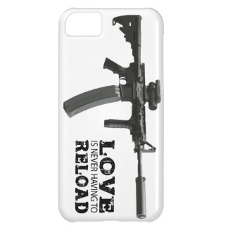 Love is Never Having To Reload AR-15 iPhone 5C Case