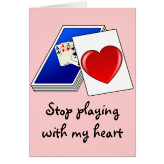 Love is Not a Card Game Slop Playing with My Heart