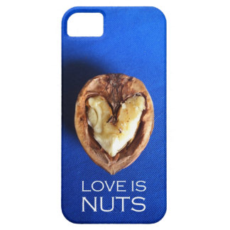 Love is Nuts iPhone 5 Covers