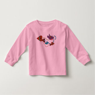 Love is on the Way Ukrainian Folk Art Toddler T-Shirt