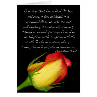 Love is patient... greeting cards