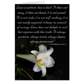 Love is patient... cards
