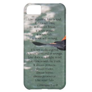 Love is Patient Corinthians Soaring Bird iPhone 5C Case