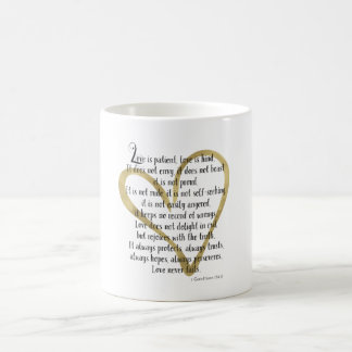 Love is Patient Heart Coffee Mug