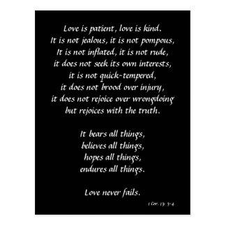 Love is postcard