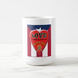 Love is Puerto Rico - Coffee Mug
