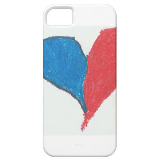 Love is simple and colourful! iPhone 5 cover