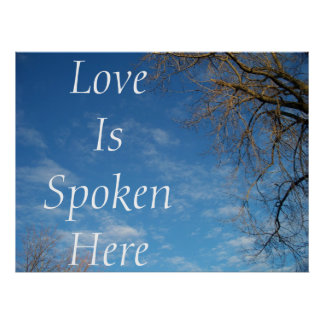 Love Is Spoken Here Poster