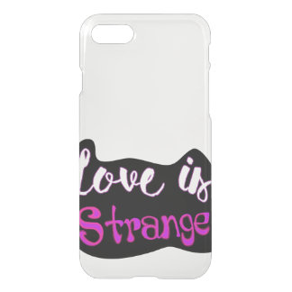 Love is Strange iPhone Case