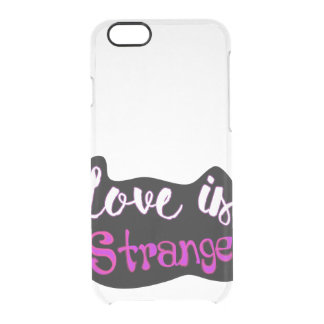 Love is Strange iPhone Case iPhone 6 Plus Case