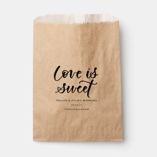 Love Is Sweet Favor Bag Favour Bags