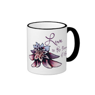 Love is the Flower of Life Coffee Mug