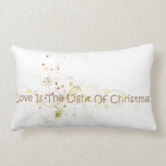 Love is the Light of Christmas Pillow Cushions
