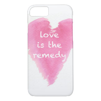 """""""Love is the remedy"""" iPhone 7 Case"""