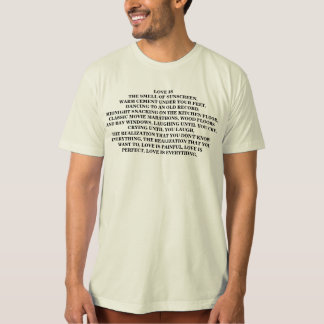 Love is the smell of sunscreen... T-Shirt