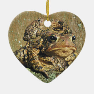 Love is Toadly Awesome Ceramic Heart Decoration