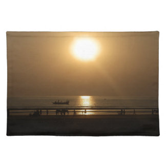 Love is what give me energy cloth placemat