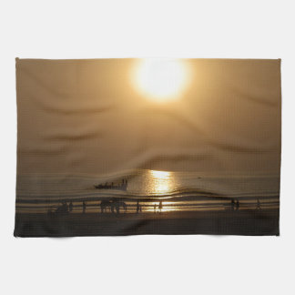 Love is what give me energy hand towel