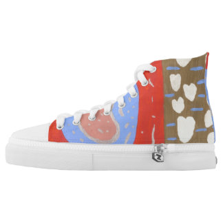 Love Island High Tops Printed Shoes