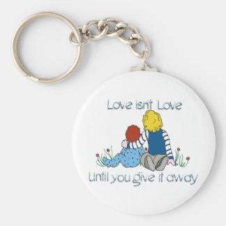 Love isn't Love Key Ring