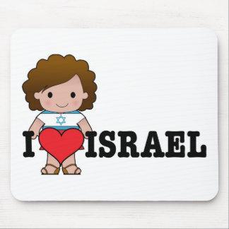 Love Israel Mouse Pad