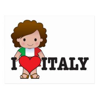 Love Italy Postcard