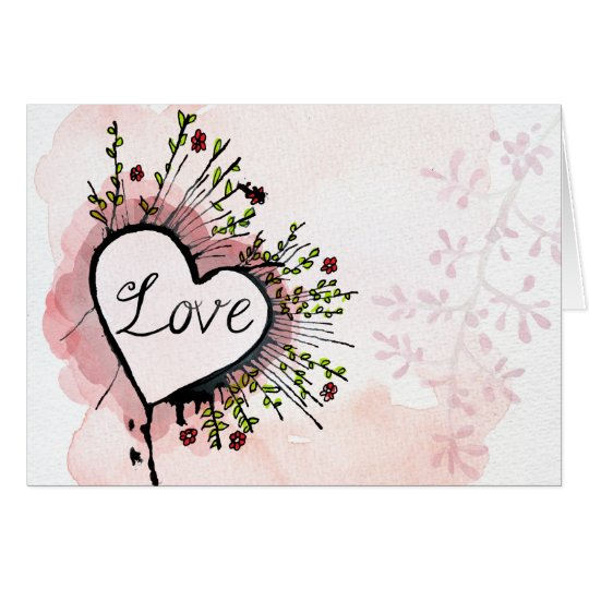 Love...it's what we've got romantic greeting card