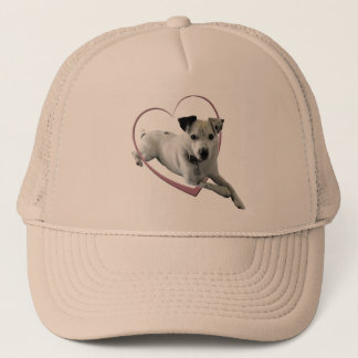 Love Jack Russell Dog Gifts Trucker Hat