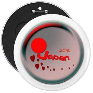 Love  Japan 6 Cm Round Badge