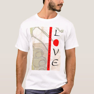 LOVE JAPAN Hands Disaster Recovery T-Shirt