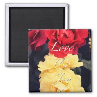 Love & Joy Square Magnet