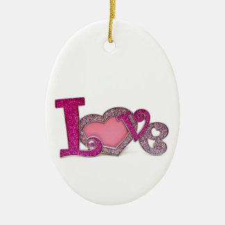 Love.jpg Christmas Ornament