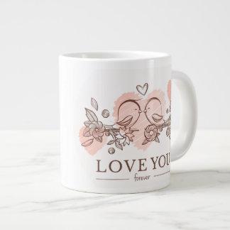 """Love"" Jumbo Mug"
