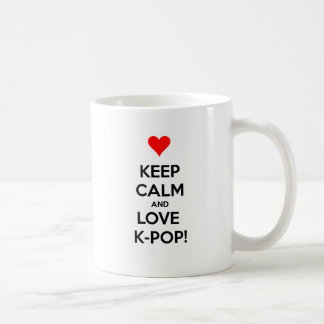 Love K-Pop! Coffee Mug