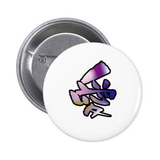 love kanji pinback buttons