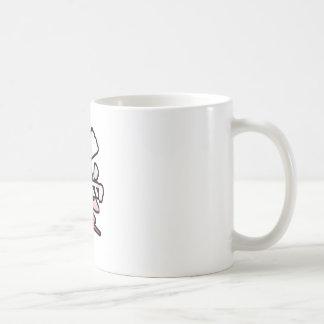 love kanji basic white mug