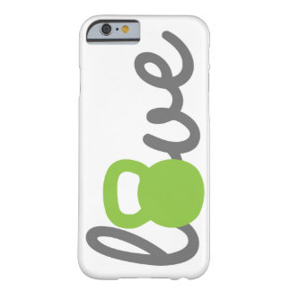 Love Kettlebell Green Phone Case Barely There iPhone 6 Case