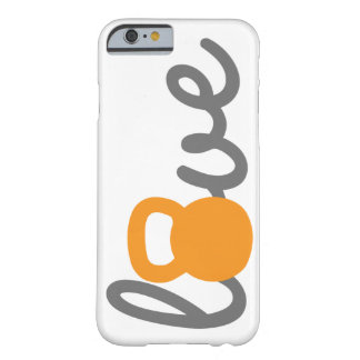 Love Kettlebell Orange Phone Case Barely There iPhone 6 Case