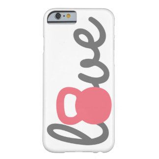 Love Kettlebell Pink Phone Case Barely There iPhone 6 Case