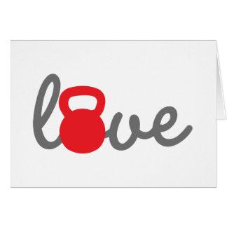 Love Kettlebell Red Cards