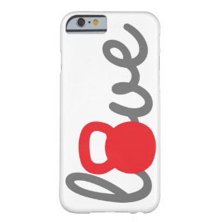 Love Kettlebell Red Phone Case Barely There iPhone 6 Case