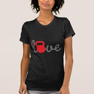 Love Kettlebell Red Tee Shirt