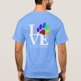 LOVE Key West Cats Dark Tee's T-Shirt