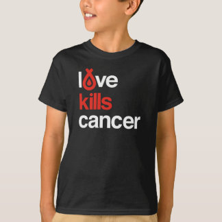 Love Kills Cancer - Kid's Tee