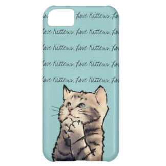 love kittens iPhone 5C case